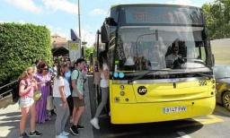 25.000 € en becas de transporte universitario que se pueden solicitar desde el jueves 16
