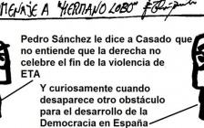 """Sánchez, a Casado en el décimo aniversario del fin de la violencia de ETA: """"No entiendo cómo la derecha no lo celebra"""""""